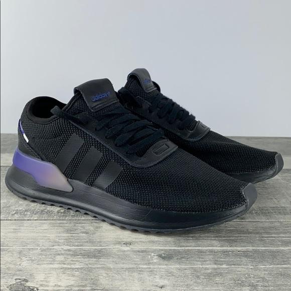 Adidas U_Path X Shoes Black Purple Gradient EUC